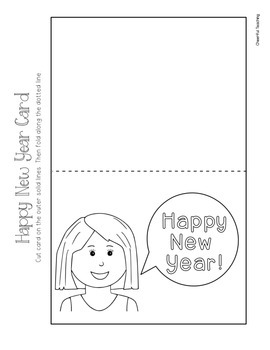 New Year's Holiday Cards