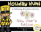 New Year's Holiday Hunt ~ Listening and Following Directions