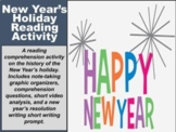 New Year's Holiday Reading Assignment (GOOGLE SLIDES)