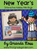 New Year's Interactive Holiday Mini-Book {Interactive Journal or Craftivity}
