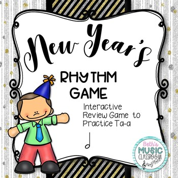 New Year's Interactive Rhythm Practice Game - Ta-a