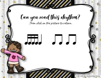New Year's Interactive Rhythm Practice Game - Tika-tika/tiri-tiri
