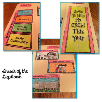 New Years Lapbook