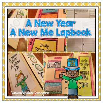 This goal setting lapbook will guide your students toward reflecting on and setting goals for the new year. The finished project is great for display.