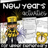 New Year's Activities for Upper Elementary