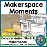 New Year's Activites 2019 Makerspace/STEM Sqirrel's New Year's Resolution