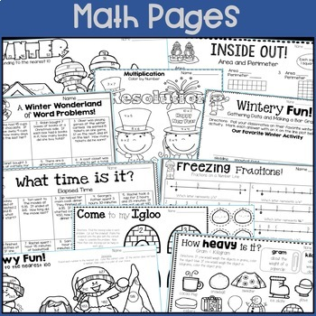 New Year's, Martin Luther King Jr., Winter: January-themed printables