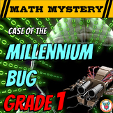 New Years Activity Math Mystery - 1st Grade Edition