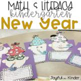 New Year Math & Literacy