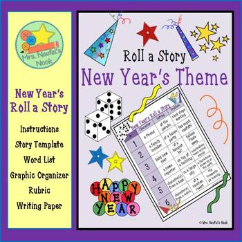 New Year's Math and Literacy Bundle