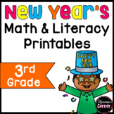 New Year's Math & Literacy Worksheets