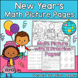 New Year's Math Picture Pages