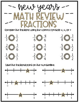 New Year's Math Review!