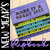 "New Year's ""My Best Year"" No-Cut Flipbook"