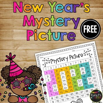 New Year's One Hundreds Chart Mystery Picture {2018}