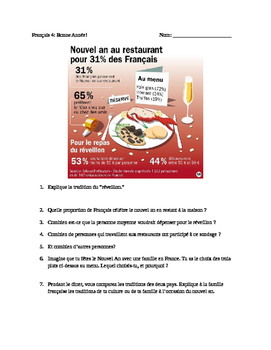 New Year's Packets: Resolutions du Nouvel An
