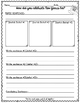 New Year's Paragraph Writing Practice FREEBIE Grades 2-4