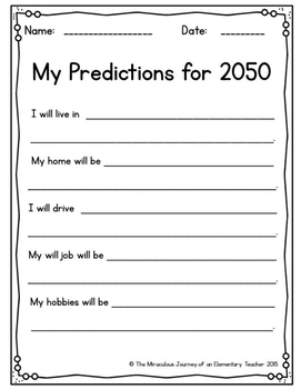 New Year's Predictions 2016