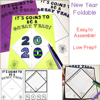 New Year's 2018 Printable Activities