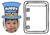 New Year's Project - Great for bulletin boards! *Editable*