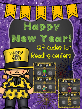 New Year's QR codes for Reading Centers