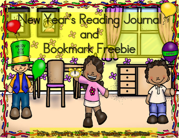 New Year's Reading Journal and Bookmarks Freebie