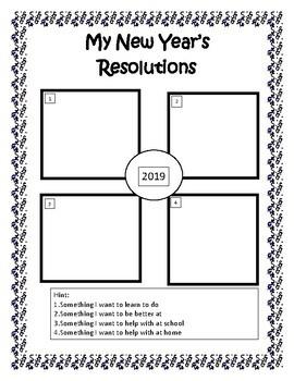 New Year Recall Activity 2017