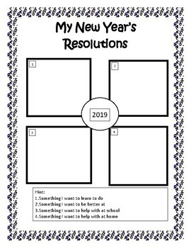 New Year Recall Activity 2019