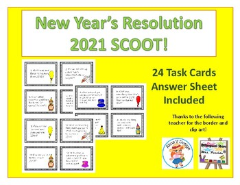 New Year's Resolution 2020 SCOOT