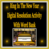 New Year's Resolution Activity Digital For Google Classroom and Printable