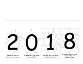 New Year's Resolution Flip Book