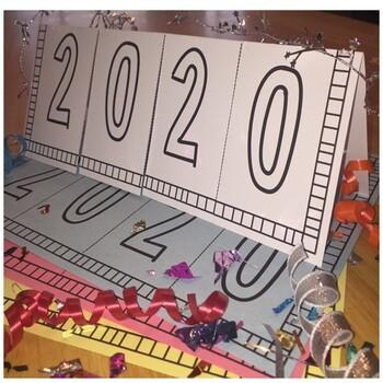 New Year's Resolution Flip Chart
