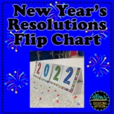 New Year's Resolution Flip Chart