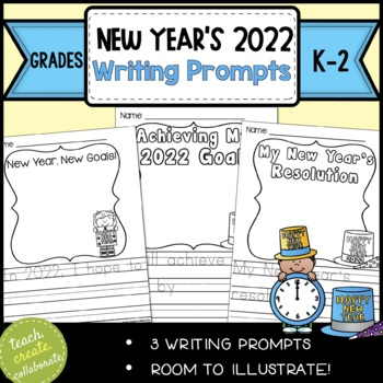 New Year's Resolution Goals and Writing Prompts