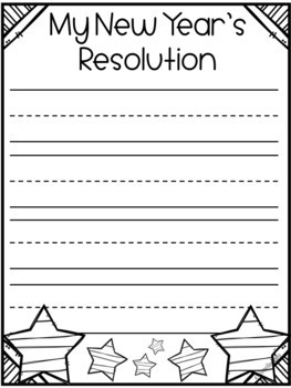 New Year's Resolutions for All Grades K-12