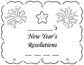 New Year's Resolution Writing Activity- Mobile