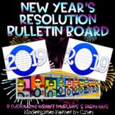 2019 Custom Writing Templates New Year's Resolution Writing / Reflecting on 2019