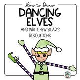 New Year's Resolution 2019  Elf Drawing Art Activities