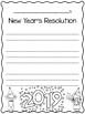 New Year's Resolution Writing - FREEBIE