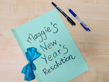 New Year's Resolution Writing Project/ Goal Setting Project