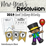New Year's Resolution and Goal Setting Activity