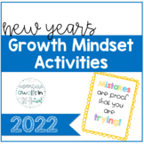 2019 New Year's Resolution and Growth Mindset Activities