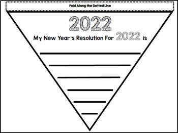 New Year's Resolutions - 2017 - Reading and Writing - Interactive Notebook
