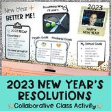 Digital New Years Resolutions 2020   New Years 2020 Activities Google Classroom™