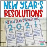 New Year's Resolutions 2021 Print & Digital