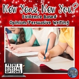 New Years Resolutions 2021 - Evidence Based Writing Prompts