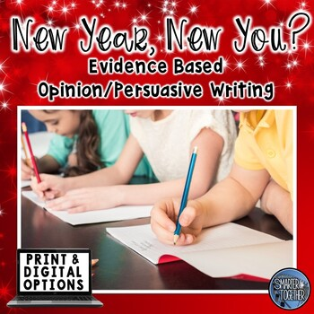 New Year's Resolutions - Evidence Based Writing Prompts