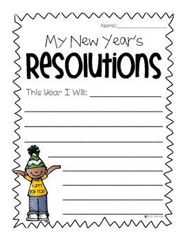 New Year's Resolutions