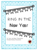 New Year's Resolutions Activity and Pennants