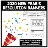 New Year's Resolutions Banners *FREEBIE*